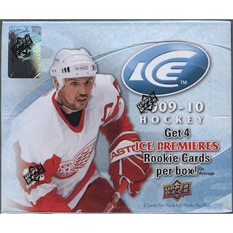 2009/10 Upper Deck Ice Hockey Hobby Box
