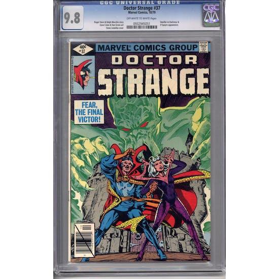 Doctor Strange #37 CGC 9.8 (OW-W) *0932945051*