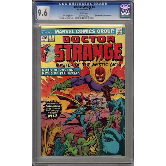 Doctor Strange #8 CGC 9.6 (W) *0951161024*