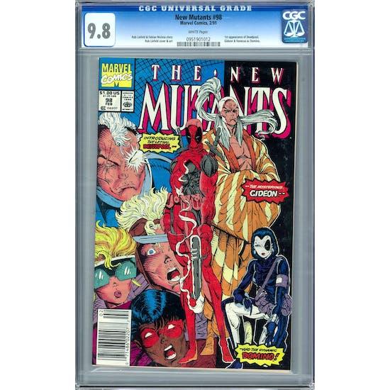 New Mutants #98 CGC 9.8 (W) *0951901012*