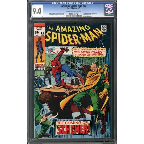 Amazing Spider-Man #83 CGC 9.0 (OW-W) *0960142012*