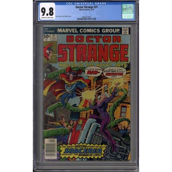 Doctor Strange #21 CGC 9.8 (OW-W) *0962611007*