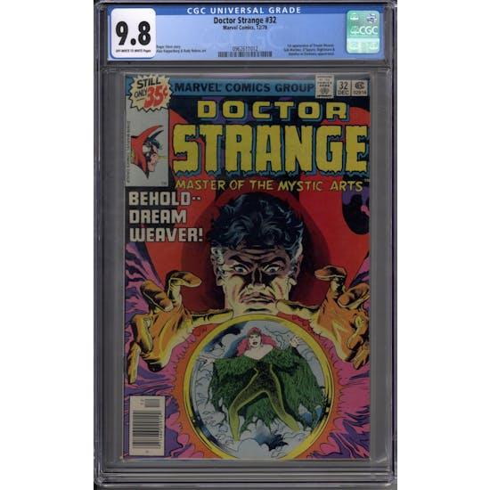 Doctor Strange #32 CGC 9.8 (OW-W) *0962611012*