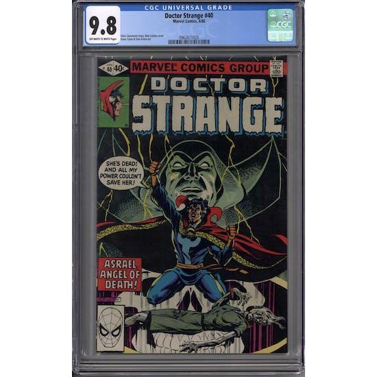 Doctor Strange #40 CGC 9.8 (OW-W) *0962611025*