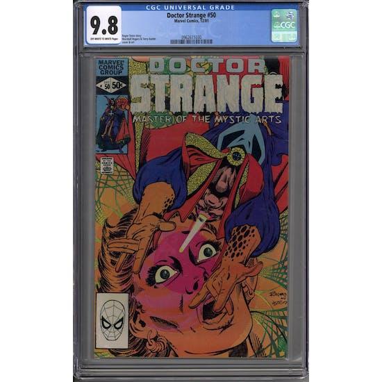 Doctor Strange #50 CGC 9.8 (OW-W) *0962611030*