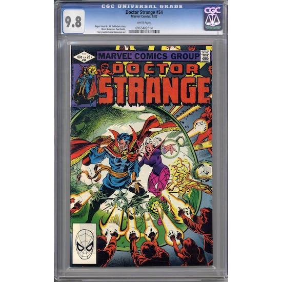 Doctor Strange #54 CGC 9.8 (W) *0965402014*