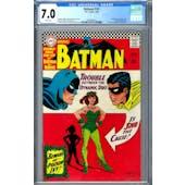 Batman #181 CGC 7.0 (W) *0976282012*