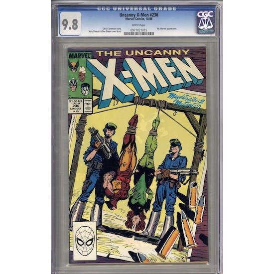 Uncanny X-Men #236 CGC 9.8 (W) *0977021015*
