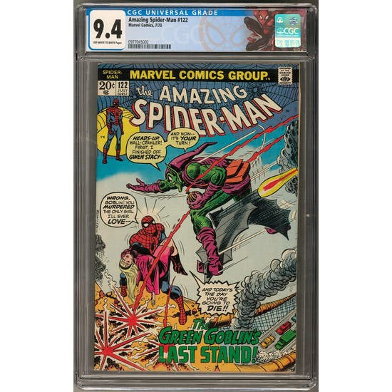 Amazing Spider-Man #122 CGC 9.4 (OW-W) *0977045002*