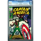 Captain America #117 CGC 8.0 (W) *0987234007*