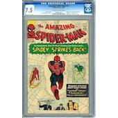 Amazing Spider-Man #19 CGC 7.5 (OW-W) *0990685001*