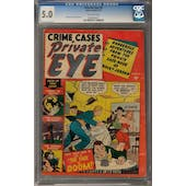 Private Eye #2 CGC 5.0 (OW) *0993889017*