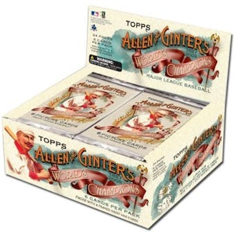 2009 Topps Allen & Ginter Baseball 24-Pack Box