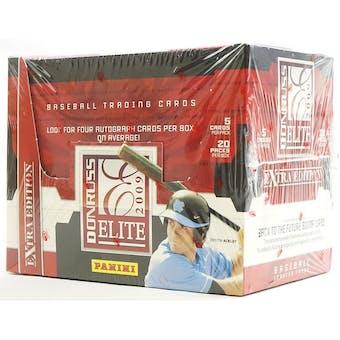 2009 Donruss Elite Extra Edition Baseball Hobby Box Trout???