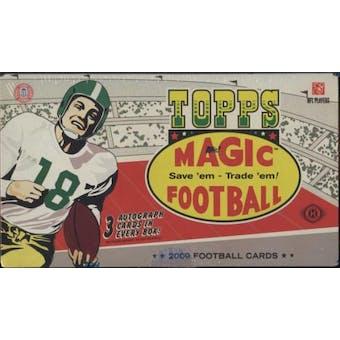 2009 Topps Magic Football Hobby Box