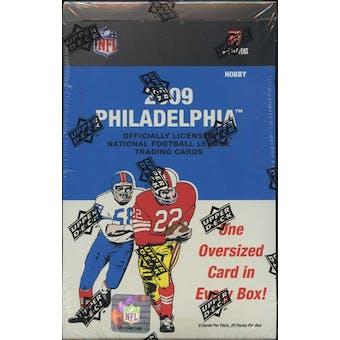 2009 Upper Deck Philadelphia Football Hobby Box