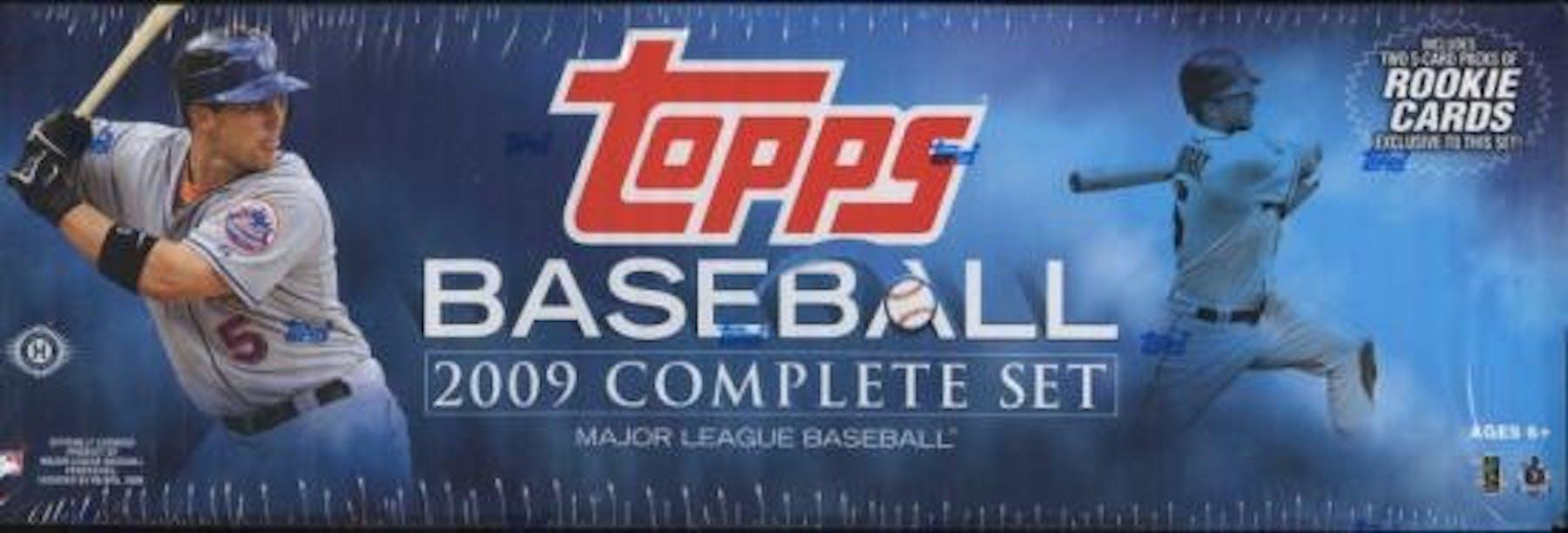 2009 Topps Factory Set Baseball Hobby Box Da Card World
