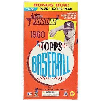 2009 Topps Heritage Baseball 8-Pack Box