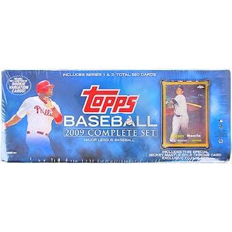 2009 Topps Factory Set Baseball Retail (Box) Mickey Mantle Edition