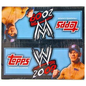 2009 Topps WWE Wrestling 24-Pack Box