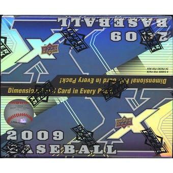 2009 Upper Deck X Baseball 24-Pack Box