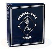 "BCW 3"" Blue Baseball Card Collectors Album"