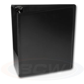 "BCW 3"" Black Card Collectors Album"