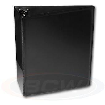 "BCW 3"" Black Card Collectors Album"