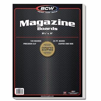 BCW Magazine Backing Boards (100 Ct.)