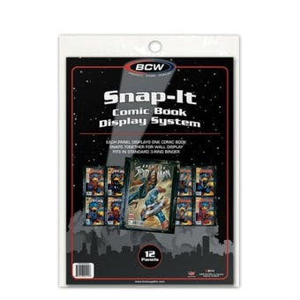BCW Comic Book Snap-It - Black