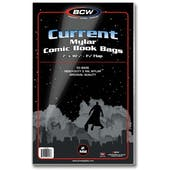 BCW Current Age Comic Book Mylar Bags 2 Mil (50 Ct.)