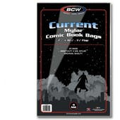 BCW Current Age Comic Book Mylar Bags 4 Mil (25 Ct.)