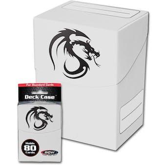 CLOSEOUT - BCW WHITE DECK BOX 90-BOX CASE