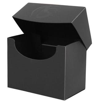 CLOSEOUT - BCW BLACK SIDE LOAD DECK BOX