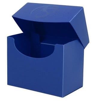 CLOSEOUT - BCW BLUE SIDE LOAD DECK BOX