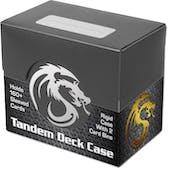 BCW Tandem Deck Case - Black