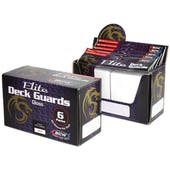 CLOSEOUT - BCW ELITE GLOSSY WHITE DECK PROTECTORS BOX - 6 PACKS OF 80 SLEEVES !!!