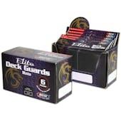 BCW Deck Guard - Elite Matte Black Box
