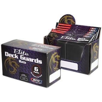 CLOSEOUT - BCW ELITE MATTE BLACK DECK PROTECTORS BOX - 480 SLEEVES !!!