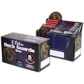 BCW Deck Guard - Elite Matte Blue Box
