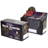 CLOSEOUT - BCW ELITE MATTE COOL GRAY DECK PROTECTORS BOX - 6 PACKS OF 80 SLEEVES !!!