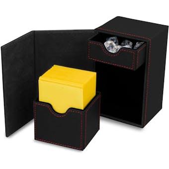 CLOSEOUT - BCW DECK VAULT LX 80 BLACK