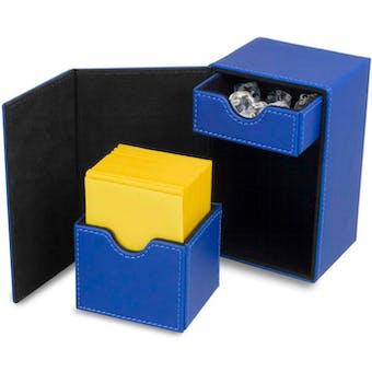 CLOSEOUT - BCW DECK VAULT LX 80 BLUE 12-BOX CASE