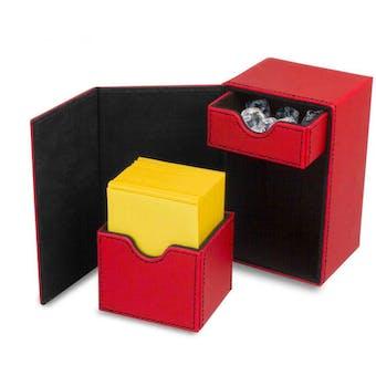 CLOSEOUT - BCW DECK VAULT LX 80 RED