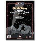 BCW Golden Age Comic Book Mylar 4 Mil Bag (25 Ct.)