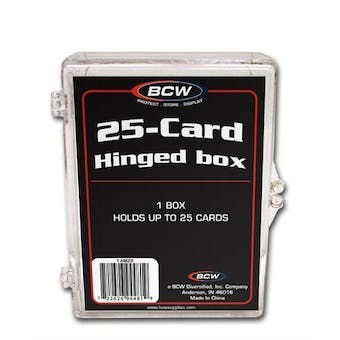 BCW Hinged Trading Card Box (25 Count)