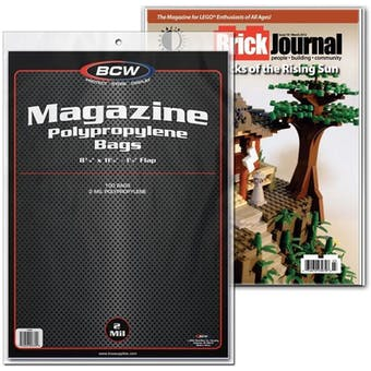 BCW Magazine Bags (100 Ct.)