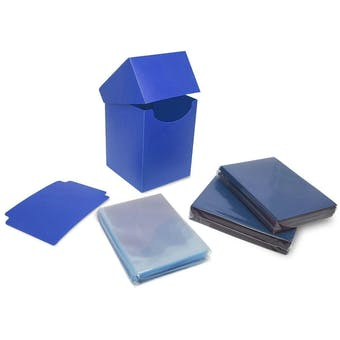 BCW Combo pack - Inner Sleeves and Elite2 Deck Protectors - Blue