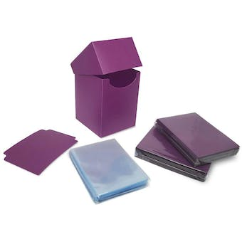 BCW Combo Pack - Inner Sleeves and Elite2 Deck Protectors - Mulberry