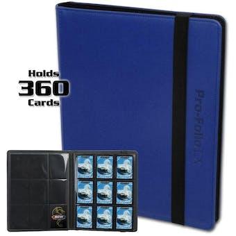 BCW Pro-Folio 9-Pocket LX Album - Blue